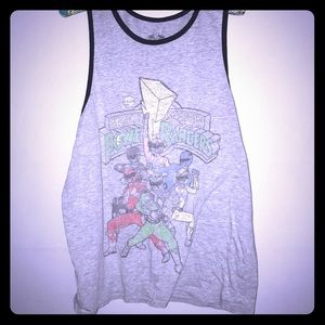 Other - Mighty Morphin Power Rangers tank top